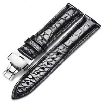 浪琴鳄鱼皮表带多少钱?带蝴蝶扣