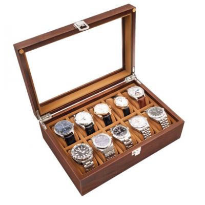 百达翡丽黑胡桃木质手表盒